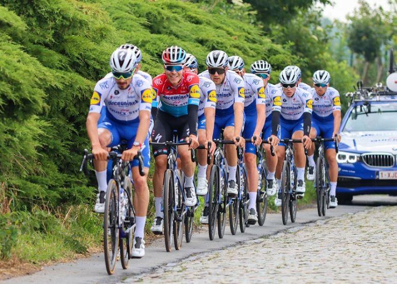 Route - Une course en Belgique avec Deceuninck-Quick Step le 5 juillet