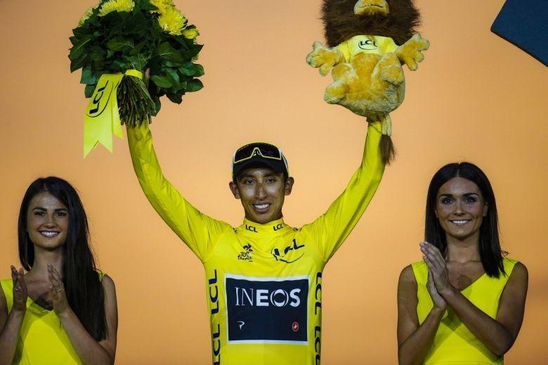 Tour de France - Egan Bernal : «Je serai à la hauteur de la course»