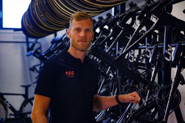Route (F) - Lars Boom nommé directeur de la performance chez CCC-Liv