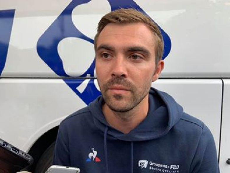 Route - Julien Pinot : «Nous sommes dans une vraie préparation»