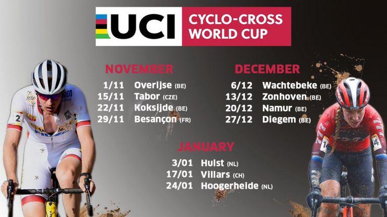 Cyclo-cross - Le calendrier de la Coupe du monde 2020 dévoilé