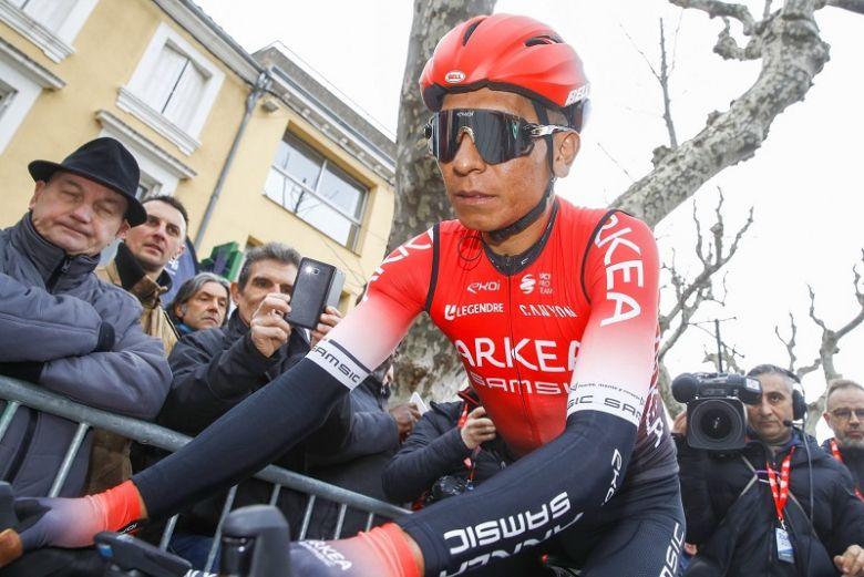 Route - «Deux semaines de repos» pour Nairo Quintana, touché au genou
