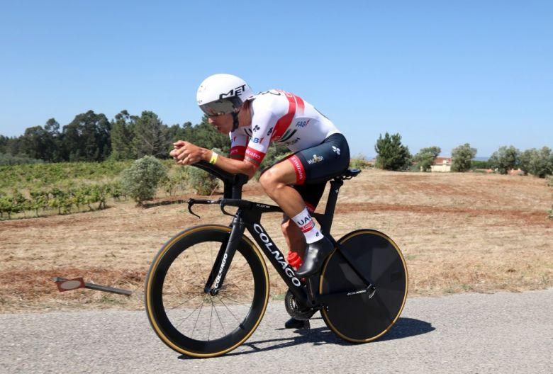 Route - Rui Costa remporte un contre-la-montre au Portugal