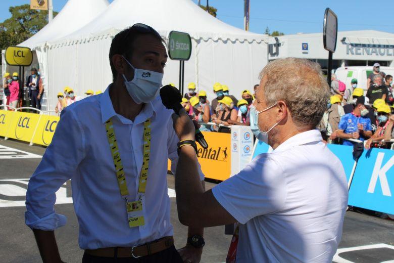 Tour de France - Jérémy Roy et Ecosystem : la collecte des téléphones