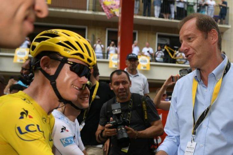 Tour de France - Prudhomme et le départ de Froome : «Curieux de voir»