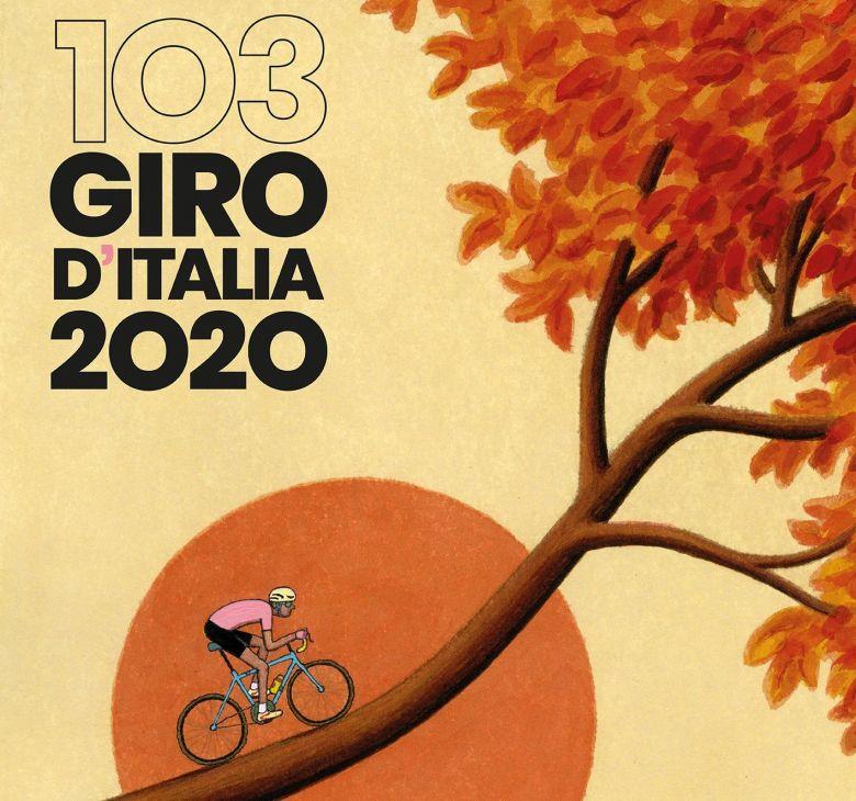 Tour d'Italie - Le Giro a dévoilé sa chanson, son affiche officielles