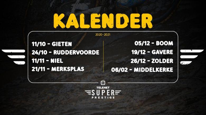 Cyclo-cross - Le calendrier complet du Superprestige 2020-2021