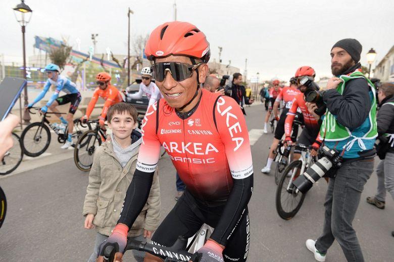 Route - Nairo Quintana a fait son retour à l'entraînement en Colombie