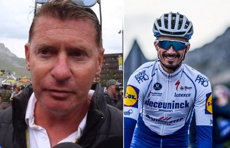 Route - Franck Alaphilippe : «Parfois Julian parle du général du Tour»