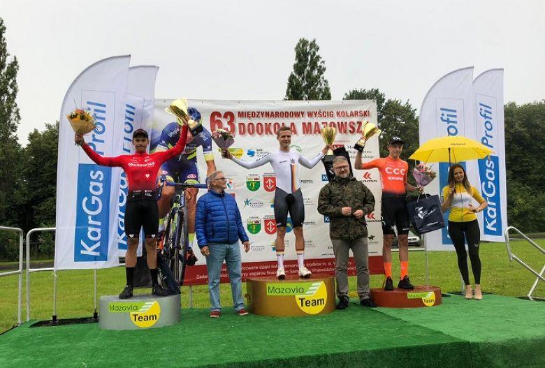 Dookola Mazowsza - Le chrono et le maillot de leader pour Félix Gross
