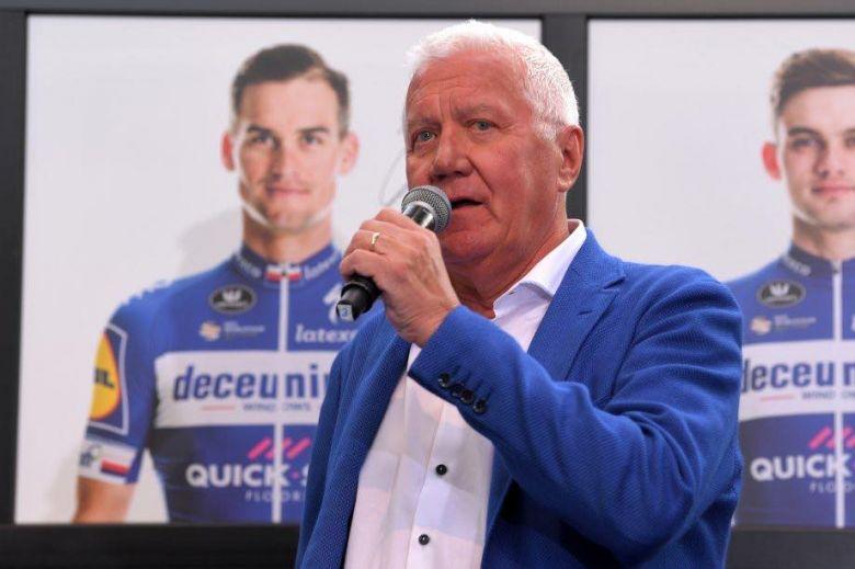 Route - Patrick Lefevere : «Entre 3 et 4 millions d'euros de perte»