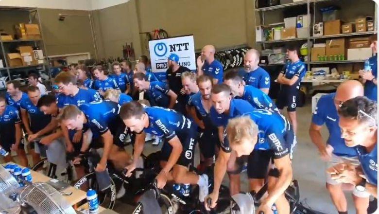 Tour de France virtuel - Will Clarke s'impose, NTT Pro Cycling titrée