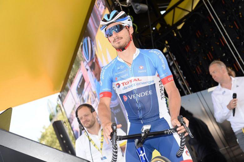 Tour de France - Bonifazio : «J'espère ne pas décevoir l'équipe»