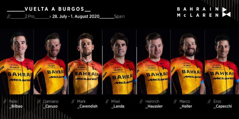 Tour de Burgos - Cavendish : «Landa est dans une forme incroyable»