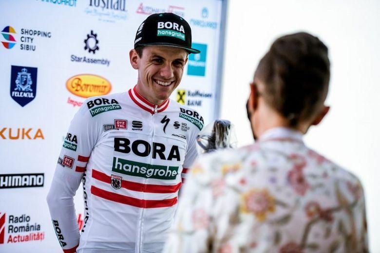 Tour de Pologne - Patrick Konrad au départ du Tour de Pologne
