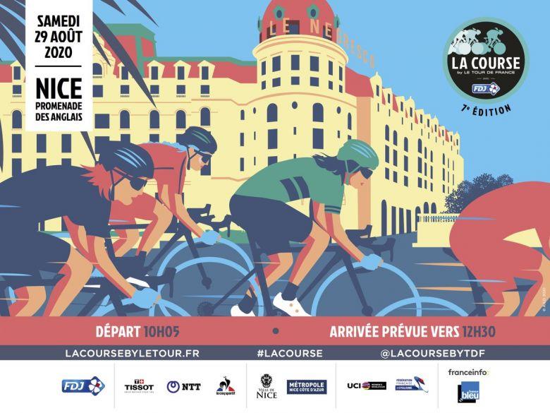 La Course by Le Tour - La 7e La Course by Le Tour ce samedi !