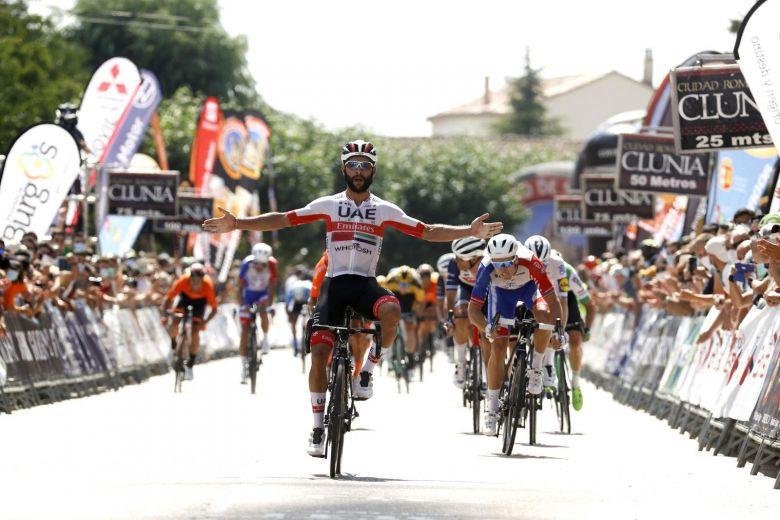 Tour de Burgos - Gaviria devant Arnaud Démare et Sam Bennett