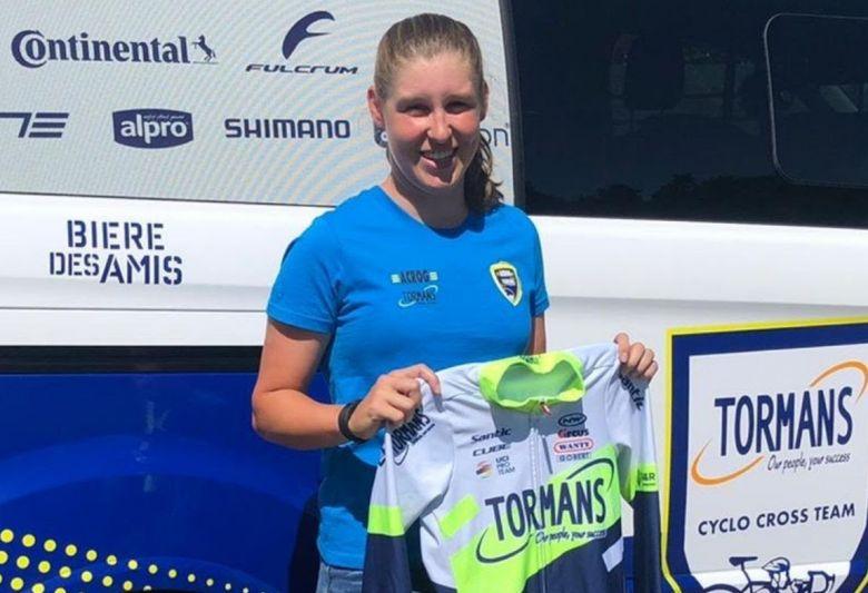 Cyclo-cross - Shana Maes rejoint l'équipe Tormans Cyclo Cross Team