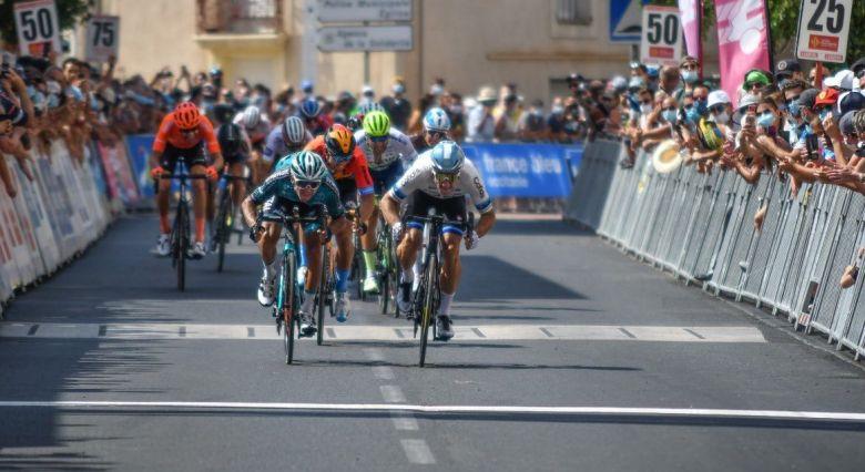 Route d'Occitanie - Elia Viviani : «Je suis heureux d'être là»