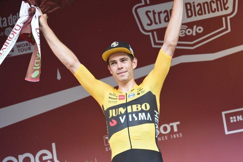Strade Bianche - Wout Van Aert : «Mon année est déjà réussie... »