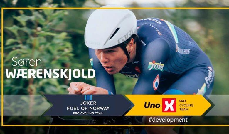 Transfert - Soren Waerenskjold deux ans chez Uno-X Pro Cycling Team