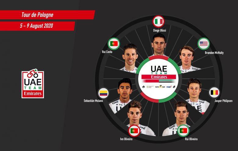 Route - Pologne, Ventoux... UAE Team Emirates annonce ses sélections