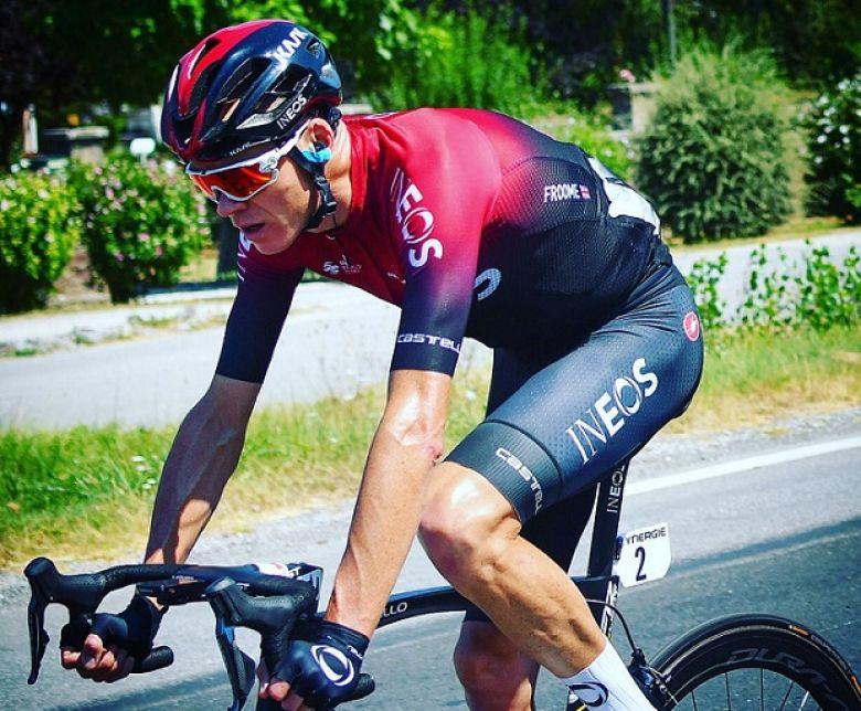 Route d'Occitanie - Chris Froome : «Content de là où j'en suis»