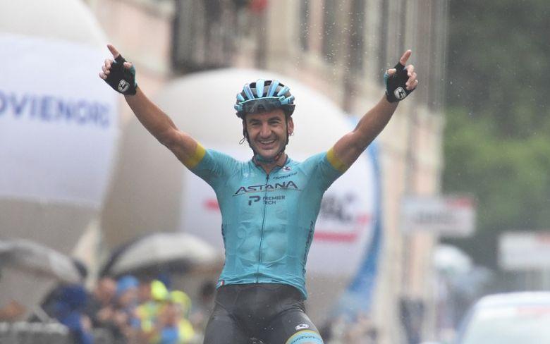 Grand Triptyque Lombard - Gorka Izagirre sous le deluge, Nibali 5e