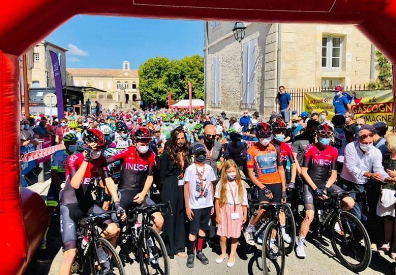 Route d'Occitanie - L'hommage rendu à Nicolas Portal à Lectoure