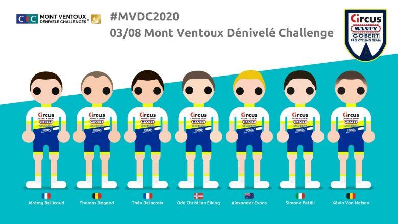 Mont Ventoux Challenges - Circus-Wanty Gobert avec Simone Petilli