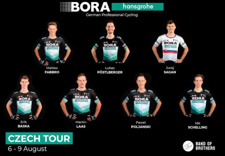 Czech Tour - Lukas Pöstlberger leader de l'équipe BORA-hansgrohe
