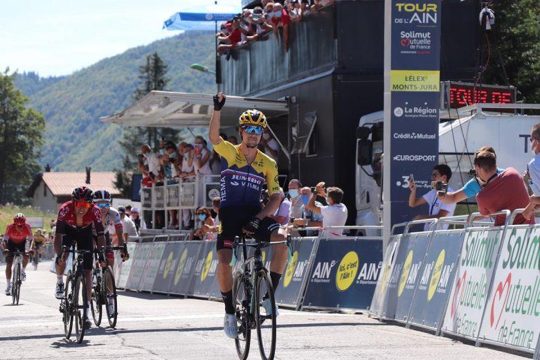Tour de l'Ain - Primoz Roglic fait coup double, Egan Bernal 2e
