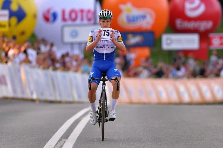 Tour de Pologne - Evenepoel : «Je voulais tout donner pour Fabio»