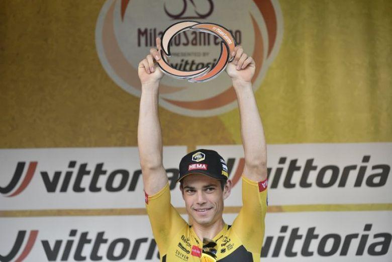 Milan-San Remo - Wout Van Aert : «Je n'arrive pas à y croire...»