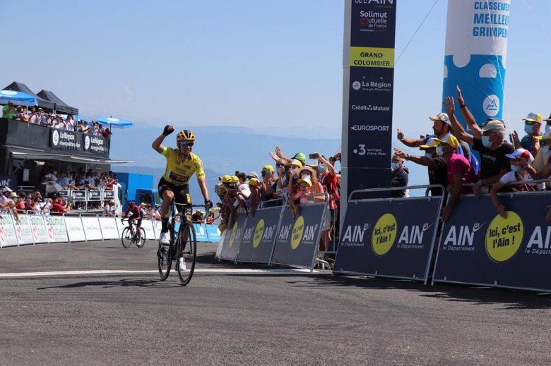 Tour de l'Ain - Primoz Roglic trop fort pour Egan Bernal, Quintana 3e