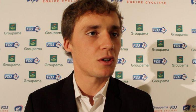 Tour de France - Madouas : «J'ai rêvé de vivre un départ à Brest»