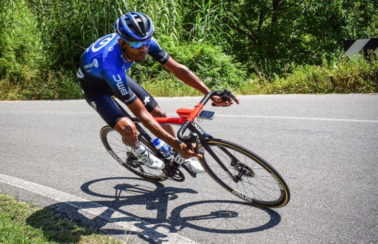 Tour du Piémont - NTT Pro Cycling avec Amanuel Ghebreigzabhier