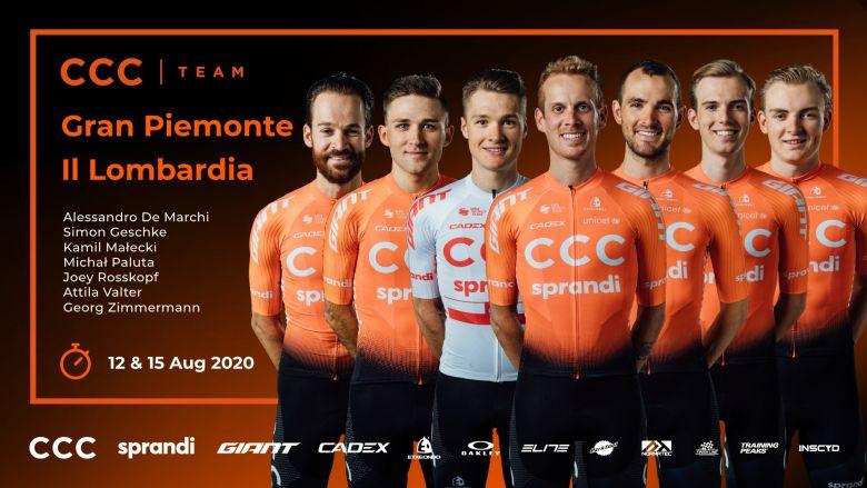 Route - CCC Team annonce ses coureurs pour le Piémont et la Lombardie