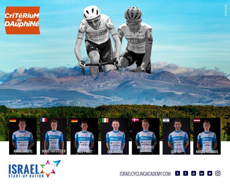 Critérium du Dauphiné - Israel Start-Up Nation avec Martin et Greipel