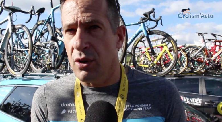 Critérium du Dauphiné - Jurdie : «On va se satisfaire d'un top 10»