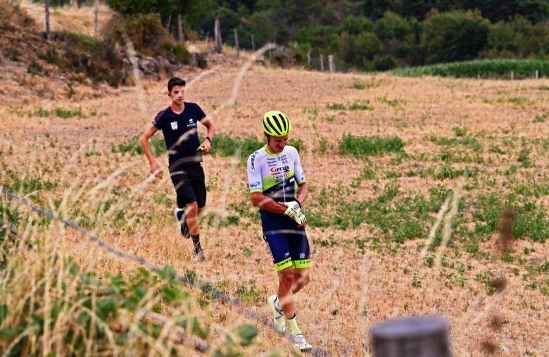 Critérium du Dauphiné - Hermans : «J'ai failli heurter les rochers»