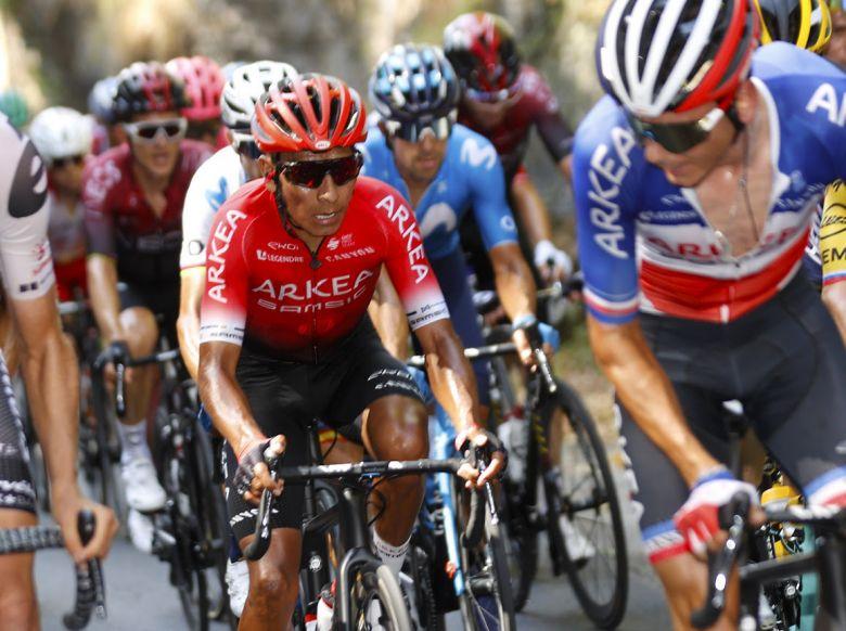 Critérium du Dauphiné - Quintana : «Ce fut encore une bonne étape»