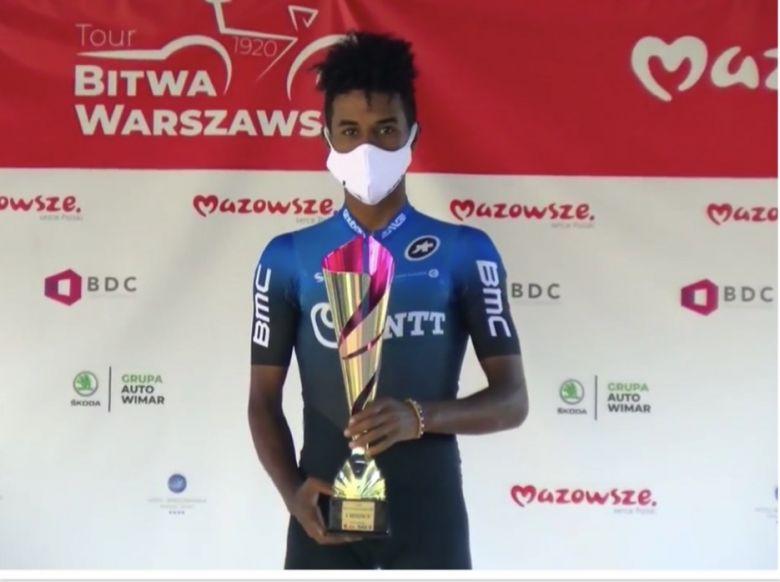 Tour Bitwa Warszawska - Natnael Tesfatsion s'impose sur la 2e étape