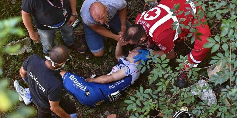 Tour de Lombardie - Evenepoel : fracture du bassin... saison terminée