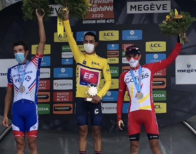 Critérium du Dauphiné - Daniel Martinez renverse Thibaut Pinot
