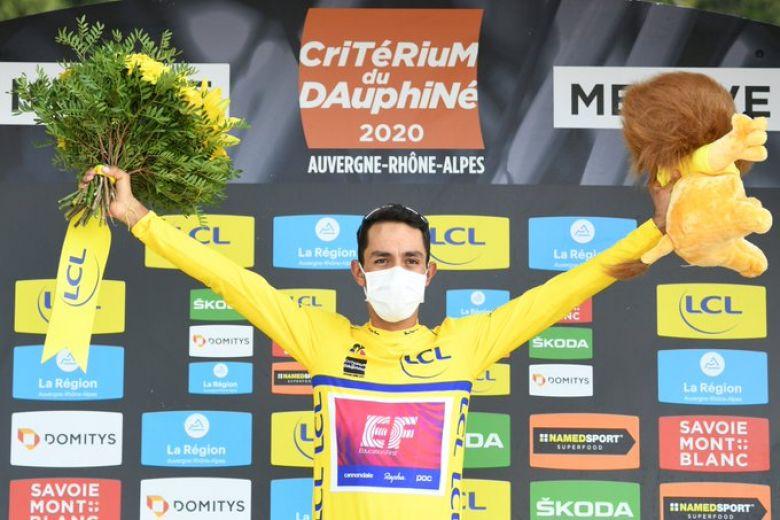 Critérium du Dauphiné - Daniel Martinez : «J'étais à la limite»