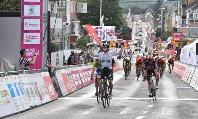 Tour de Wallonie - Sam Bennett s'impose, Démare 2e et leader