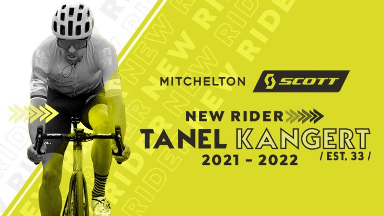 Transfert - Tanel Kangert s'engage pour deux ans avec Mitchelton-Scott