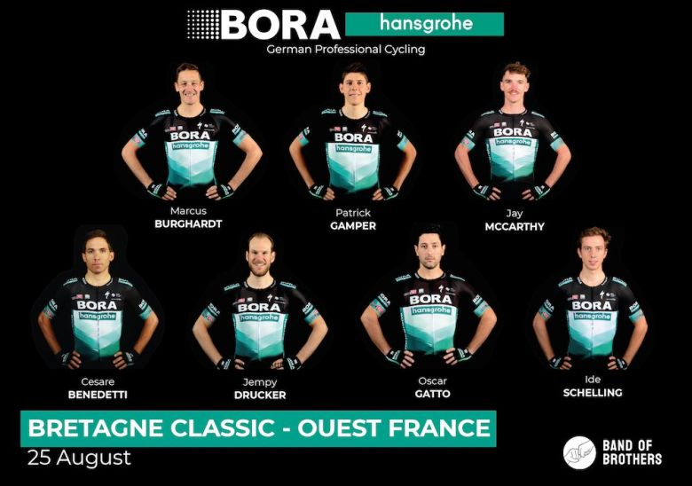 Bretagne Classic - BORA-hansgrohe avec Benedetti et Jempy Drucker