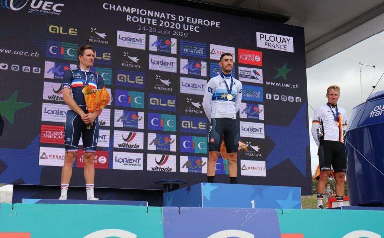 Europe - Arnaud Démare : «Je ne m'attendais pas à un sprint comme ça»